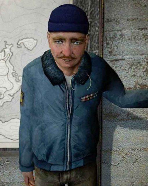 Half-Life 2 Blue Bomber Odessa Cubbage Jacket