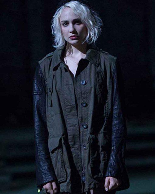 Tuppence Middleton Cotton TV Series Sense8 Riley Blue Jacket
