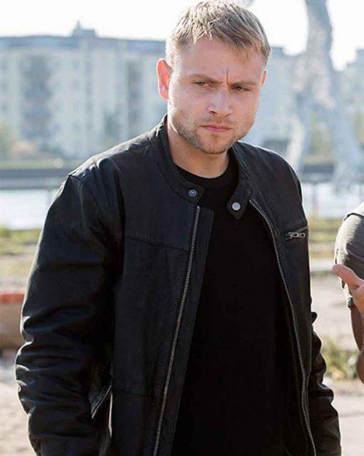 Sense8 Max Riemelt Leather Wolfgang Bogdanow Jacket