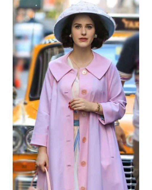 The Marvelous Mrs Maisel Rachel Brosnahan Miriam Maisel Cotton Coat