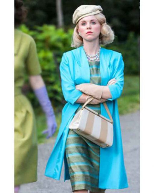 The Marvelous Mrs. Maisel Bailey De Young Blue Imogene Cleary Coat