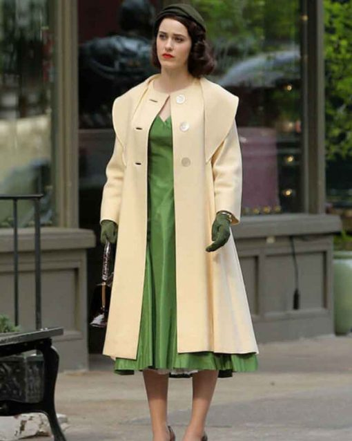 The Marvelous Mrs. Maisel Miriam Maisel Beige Coat