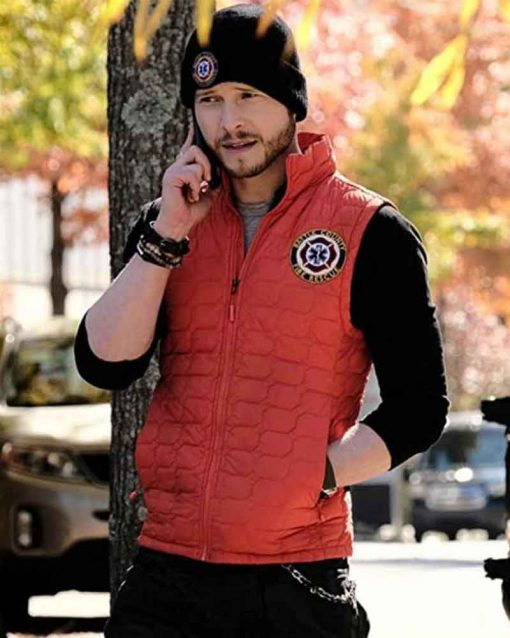 The Resident Conrad Hawkins Red Vest