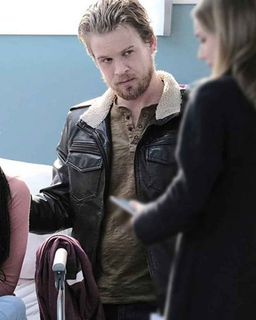 The Resident S03 Marcus Thompson Leather Jacket
