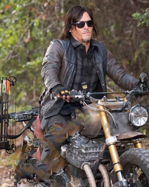 The Walking Dead Norman Reedus Leather Daryl Dixon Jacket