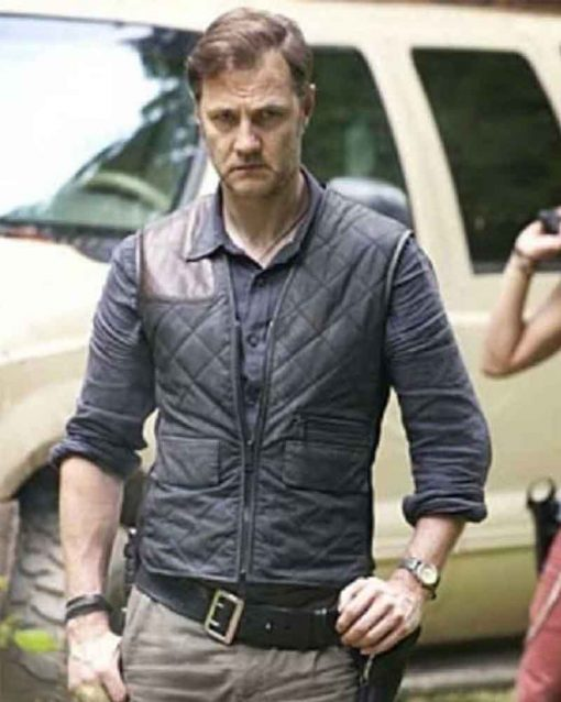The Walking Dead Governor Quilted Vest