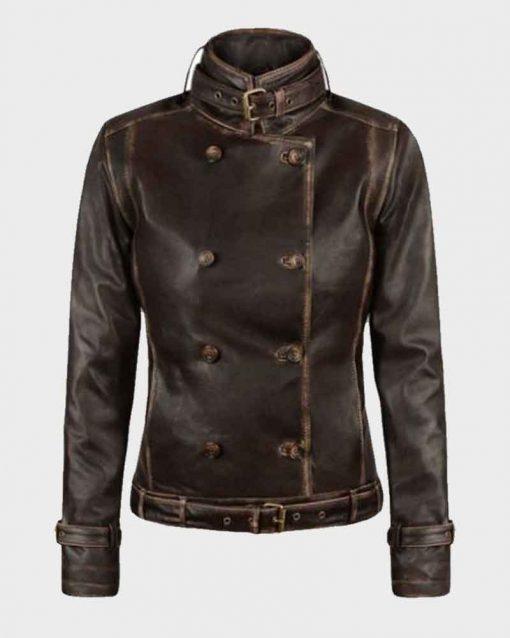 The Winter Soldier Natasha Romanoff Leather Scarlett Johansson Jacket