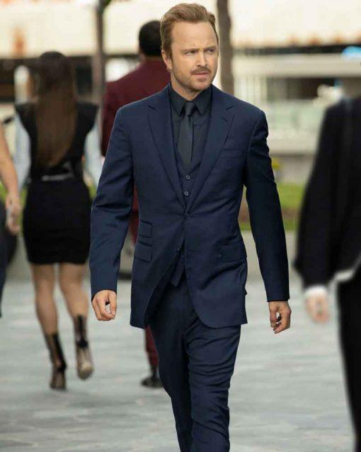 Westworld S03 Aaron Paul Caleb Nichols Blazer Suit