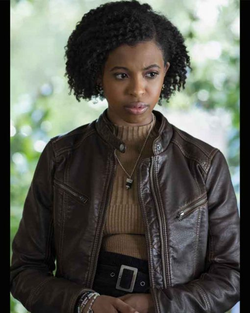 Ani Achola Leather Jacket