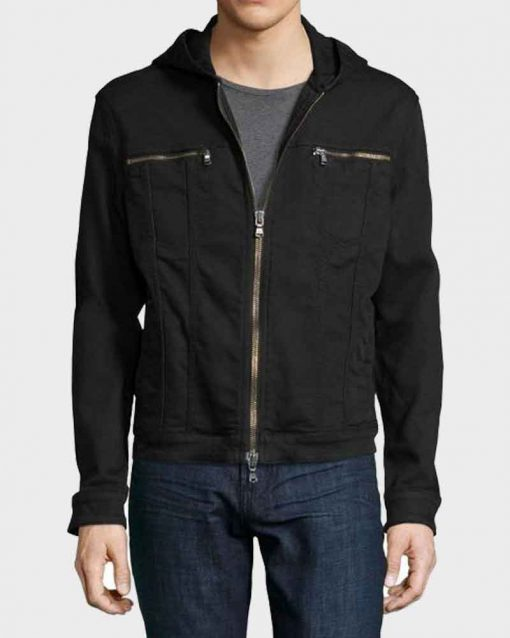 Clay Jensen Hooded Jacket