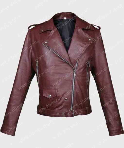 13 Reason Why Alisha Boe Motorcycle Jacket