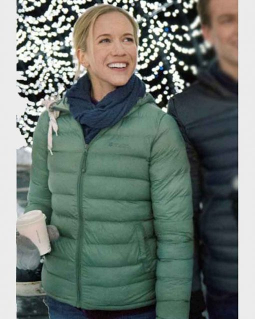 Julia Miller Green Puffer Jacket