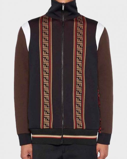 BlackAF Kenya Barris Brown Jacket
