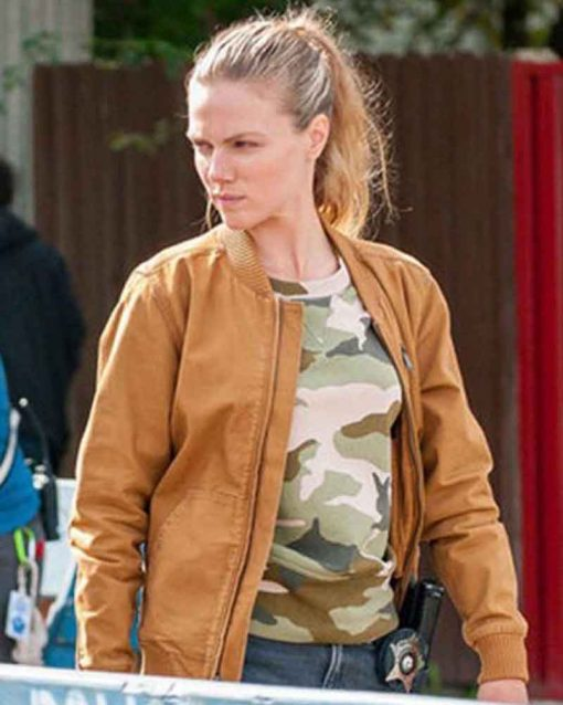 Tracy Spiridakos Chicago P.D. S07Ep7 Hailey Upton Bomber Jacket