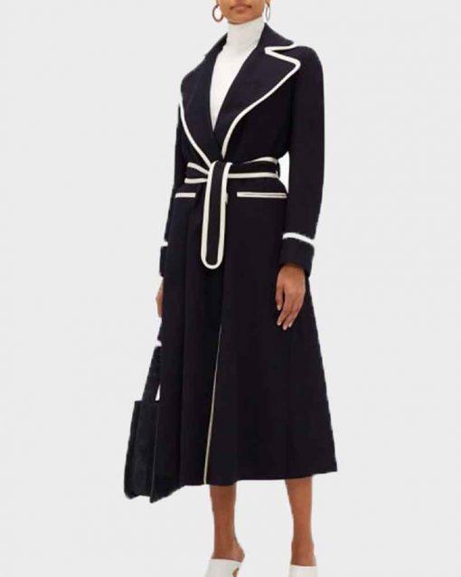 Fallon Carrington Black Coat