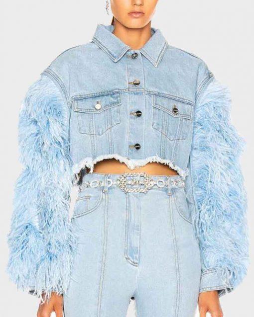 Jade Peyton Blue Dynasty Vanessa Deveraux Denim Jacket