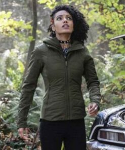Maisie Richardson-Sellers Legends Of Tomorrow S05 Charlie Jacket with Hood
