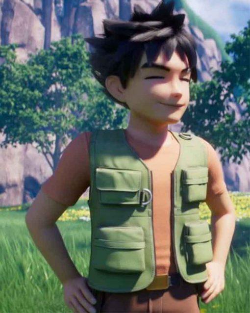 Brock Pokemon Green Vest