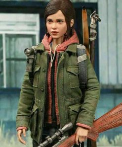 Green Cotton Video Game The Last Of Us Part II Ellie Jacket
