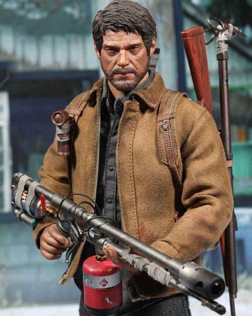The Last Of Us Part II Joel Brown Suede Leather Jacket