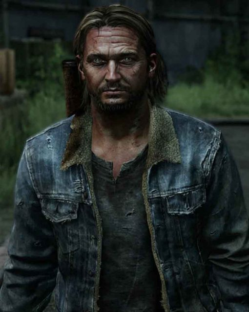 Blue Denim video Game The Last Of Us Part II Tommy Jacket