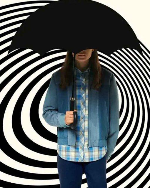 Blue Vanya Hargreeves Bomber Jacket