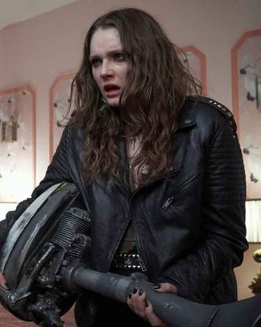 We Summon the Darkness Beverly Leather Jacket