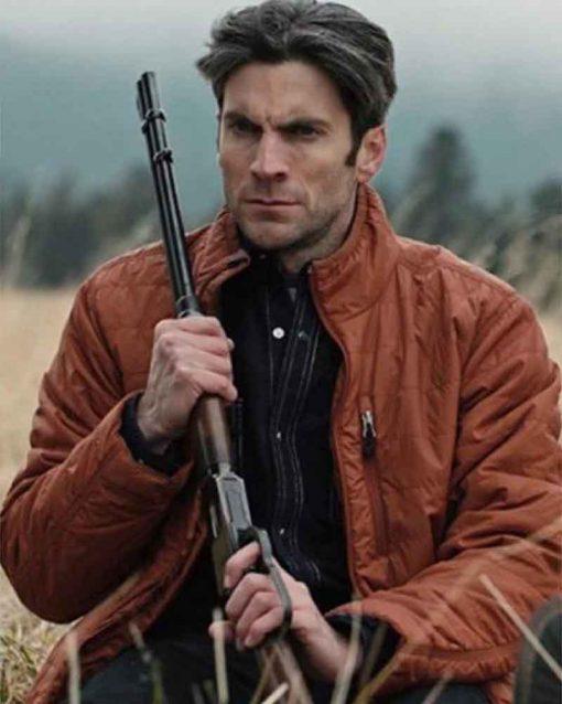 Yellowstone Wes Bentley Jamie Dutton Brown Jacket