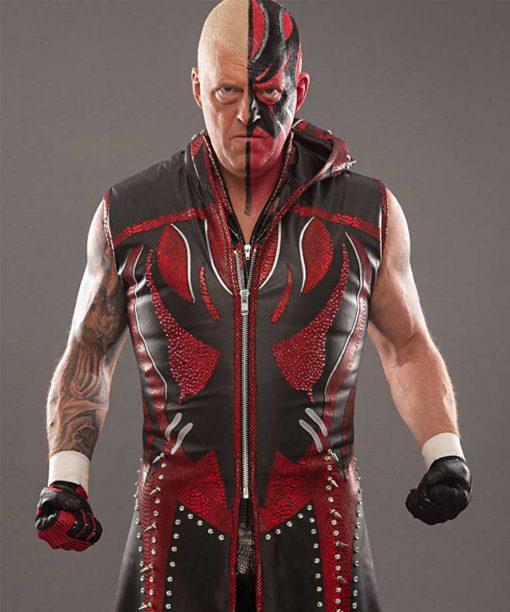 All Elite Wrestling Dustin Rhodes Leather AEW Goldust Coat