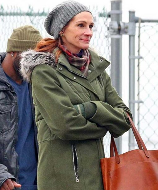 Julia Roberts Ben Is Back Coat