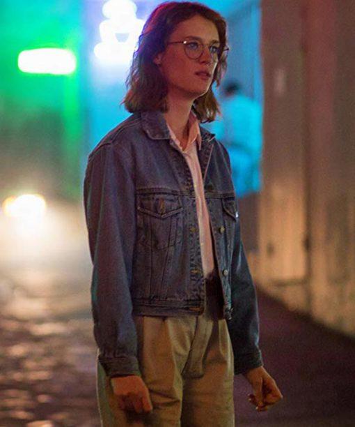 Mackenzie Davis Black Mirror S03 Yorkie Denim Jacket