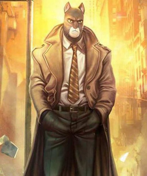 Video Game Blacksad Under The Skin Trench Coat
