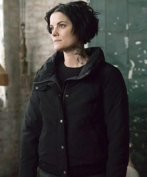 Jaimie Alexander Blindspot Jane Doe Black Jacket