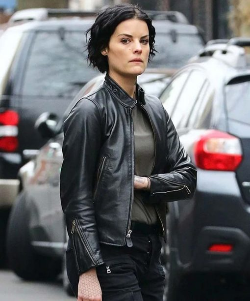 Blindspot Jaimie Alexande Leather Jacket
