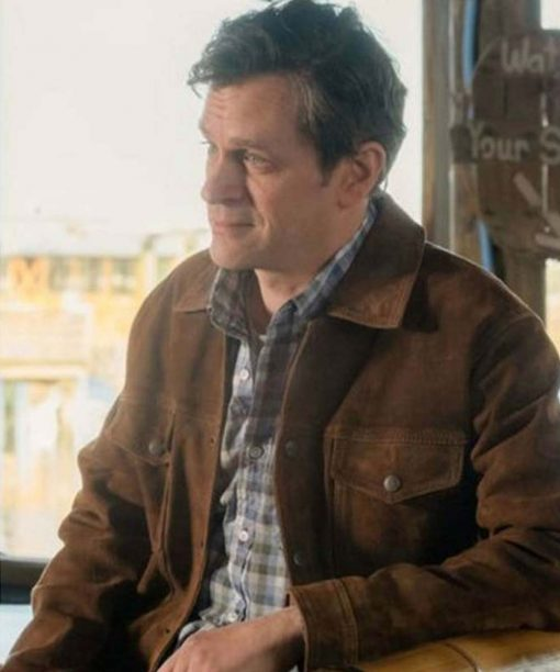 Tom Everett Council of Dads Scott Perry Brown Jacket