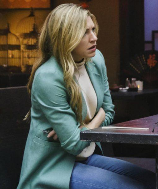 Legends of Tomorrow S06 Ava Sharpe Blue Blazer Jacket