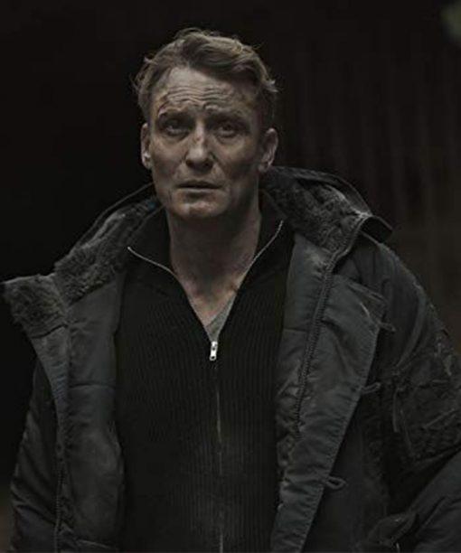 Dark Ulrich Nielsen Black Cotton Jacket