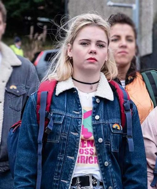 Derry Girls Saoirse-Monica Jackson Sharpa Jacket