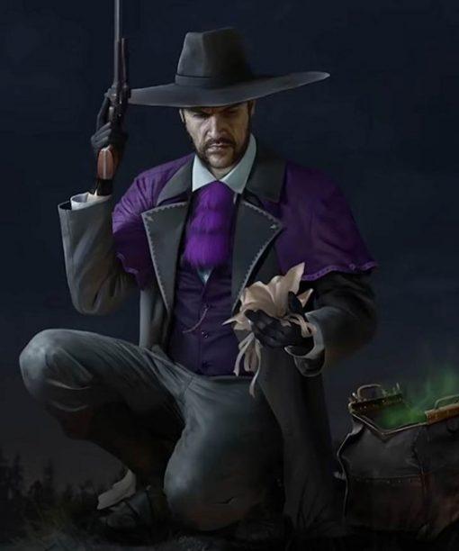 Doc McCoy Desperados III Purple Coat