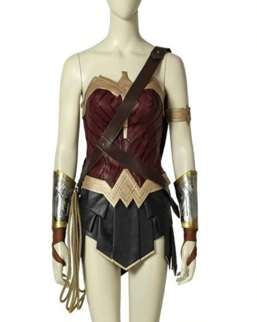 Wonder Woman Diana Prince Corset
