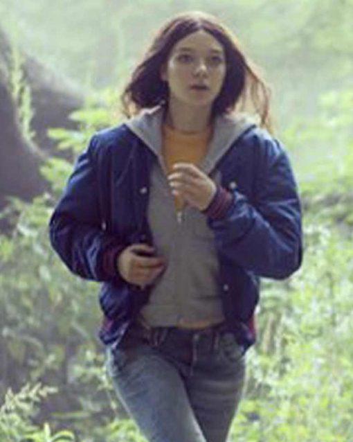 Hanna Esme Creed Miles Blue Jacket