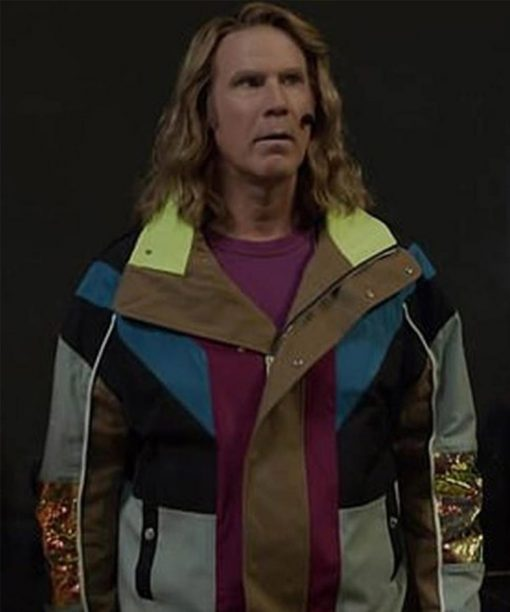 Will Ferrell Cotton Eurovision Song Contest Lars Erickssong Jacket