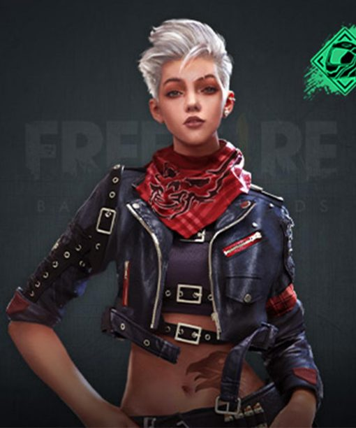 Video Game Free Fire Notora Leather Jacket