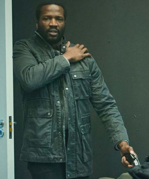 Lucian Msamati Gangs Of London Elliot Finch Jacket