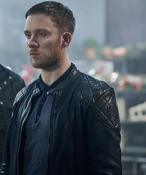 Gangs of London Sean Wallace Black Leather Jacket