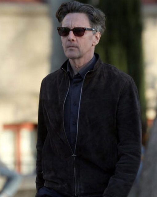 Good Girls Andrew McCarthy Suede Leather Jacket