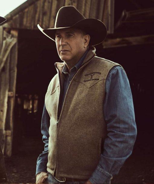 Yellowstone S03 John Dutton Vest