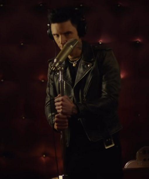 Paradise City Andy Biersack Black Leather Jacket