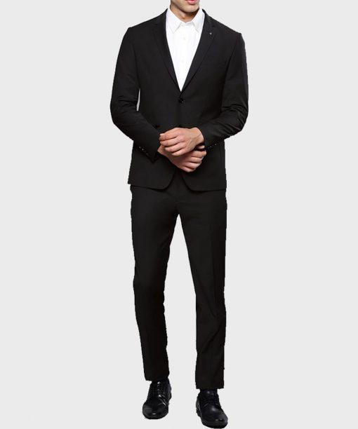 Tom Ellis Lucifer Morningstar Black Suit