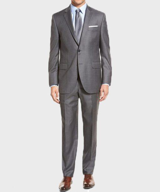 Lucifer Tom Ellis Grey Suit